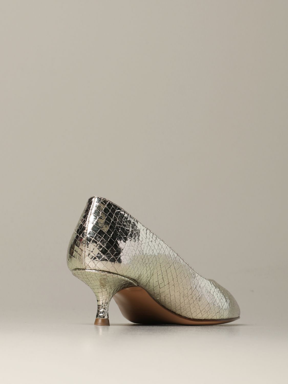 Court shoes Anna F.: Shoes women Anna F. platinum 3