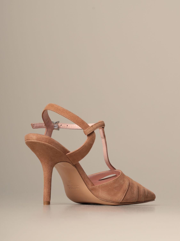 Heeled sandals Anna F.: Shoes women Anna F. brown 3