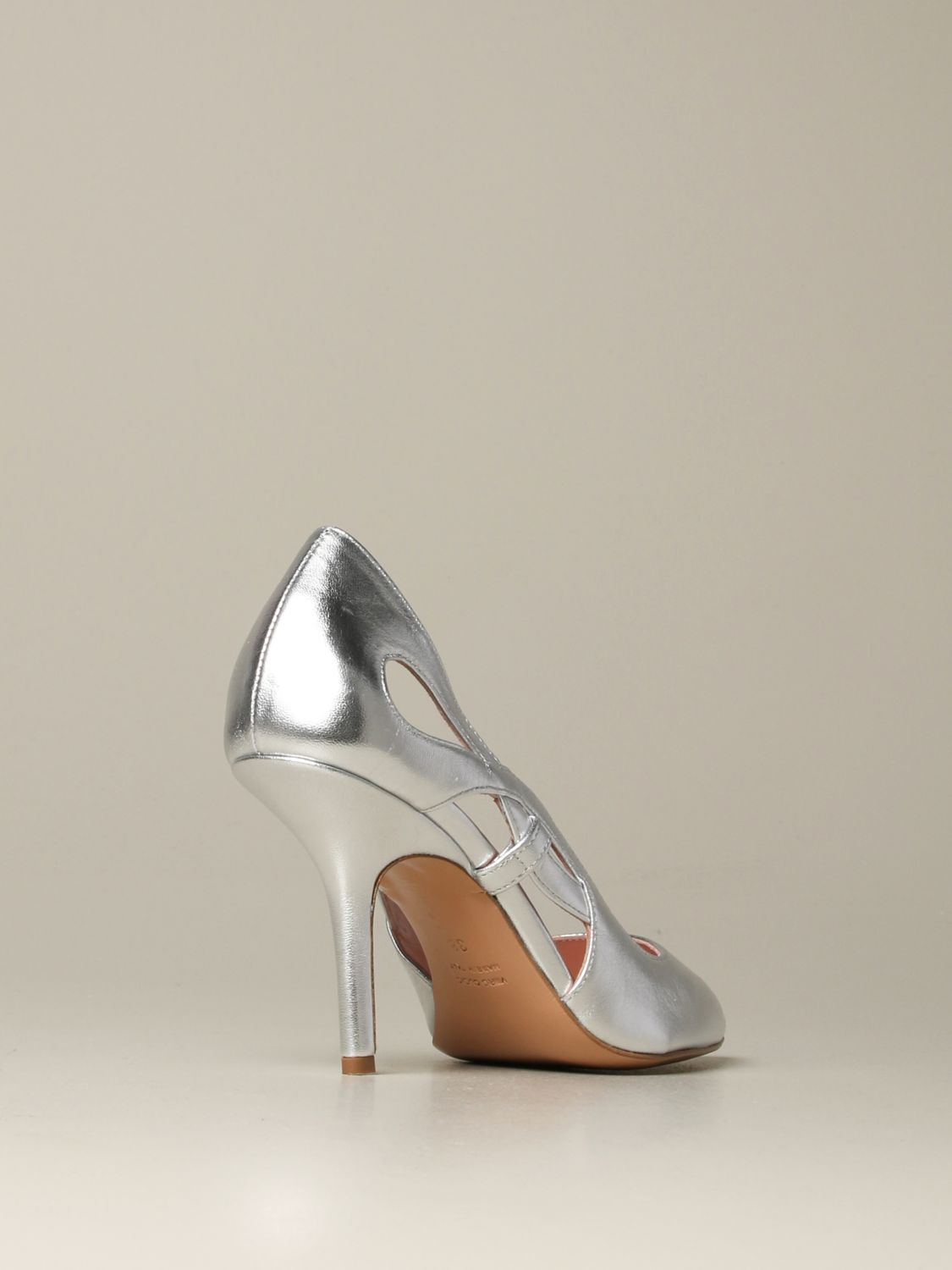 Court shoes Anna F.: Shoes women Anna F. silver 3