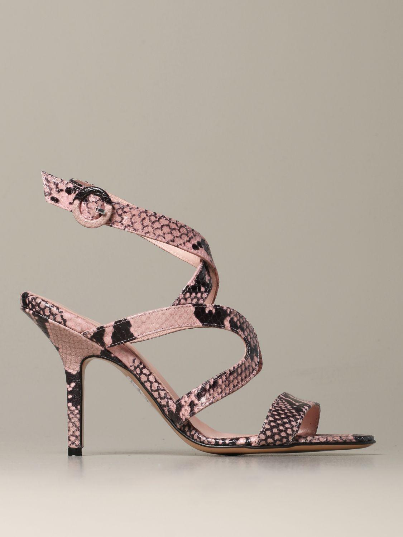 Heeled sandals Anna F.: Shoes women Anna F. pink 1
