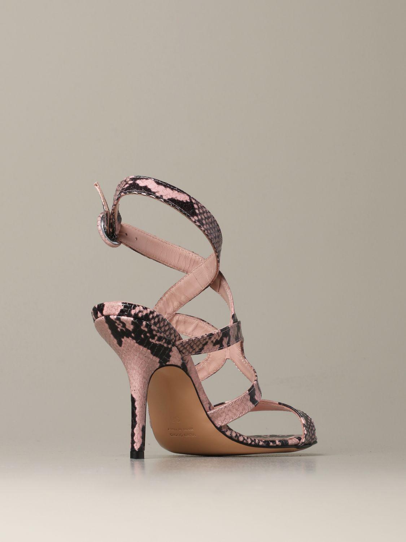 Heeled sandals Anna F.: Shoes women Anna F. pink 3