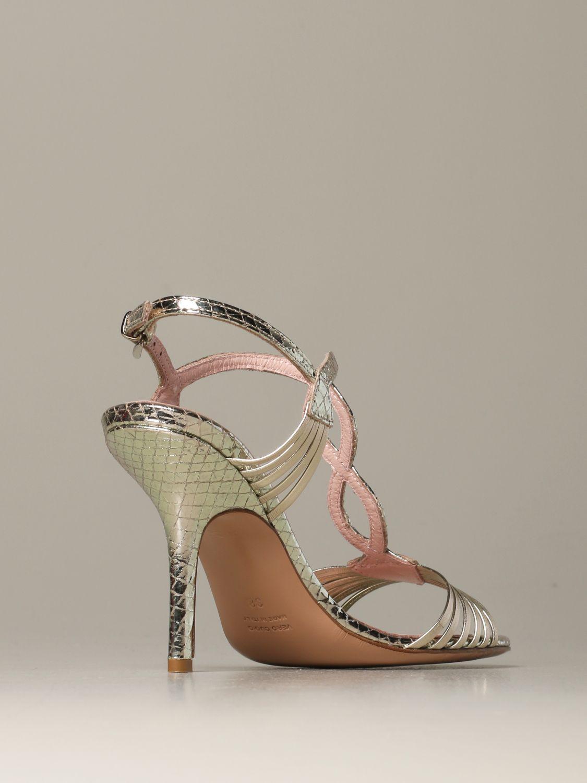 Heeled sandals Anna F.: Shoes women Anna F. platinum 3