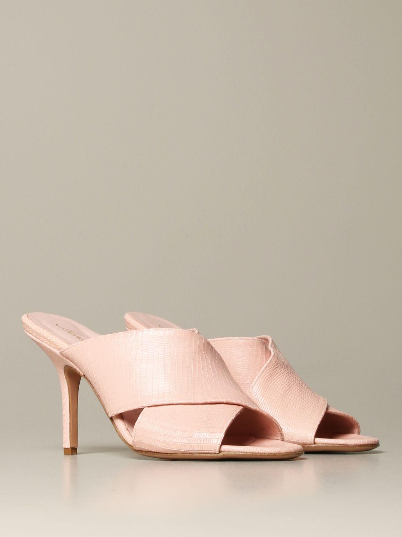 Heeled sandals Anna F.: Shoes women Anna F. pink 2