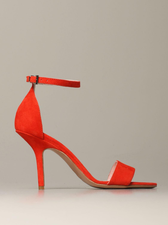 Heeled sandals Anna F.: Shoes women Anna F. raspberry 1