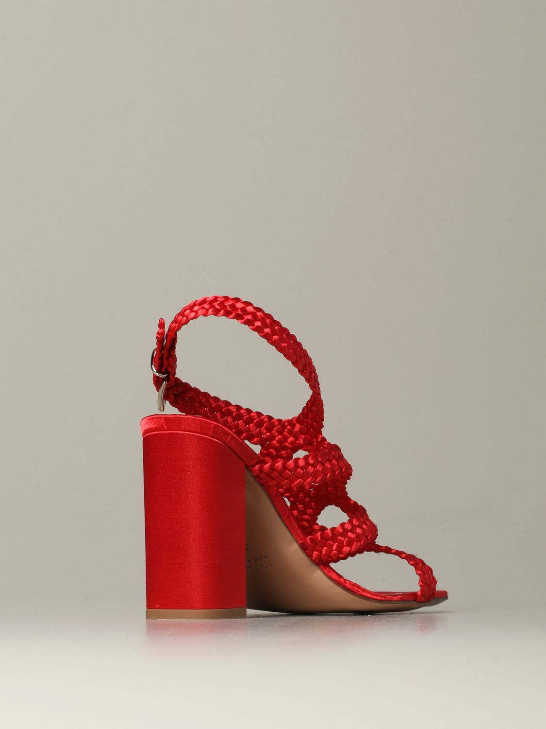 Heeled sandals Anna F.: Shoes women Anna F. red 3