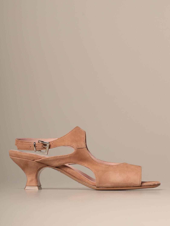 Heeled sandals Anna F.: Shoes women Anna F. brown 1