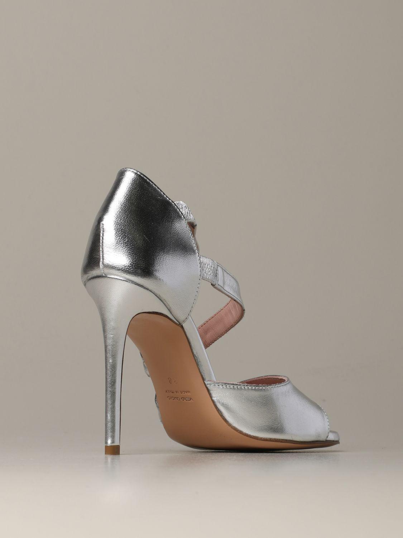 Heeled sandals Anna F.: Shoes women Anna F. silver 3