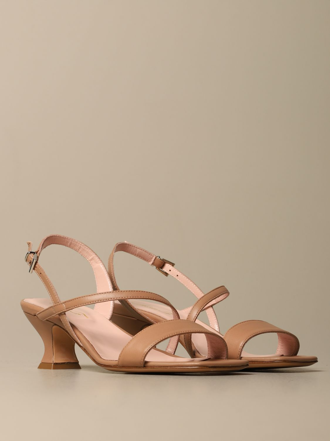 Heeled sandals Anna F.: Shoes women Anna F. leather 2