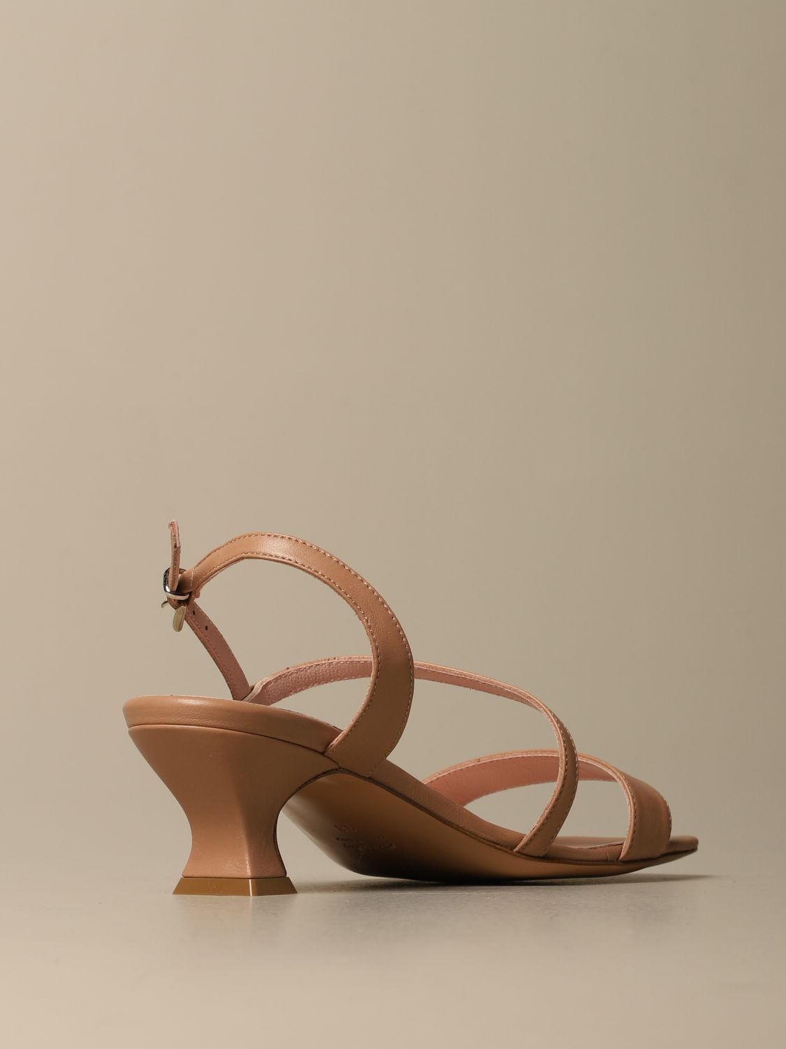 Heeled sandals Anna F.: Shoes women Anna F. leather 3