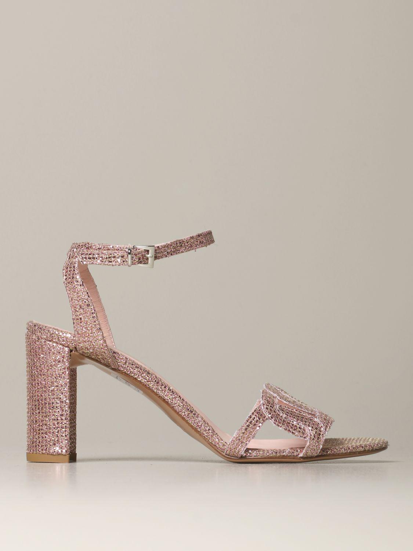 Heeled sandals Anna F.: Shoes women Anna F. blush pink 1
