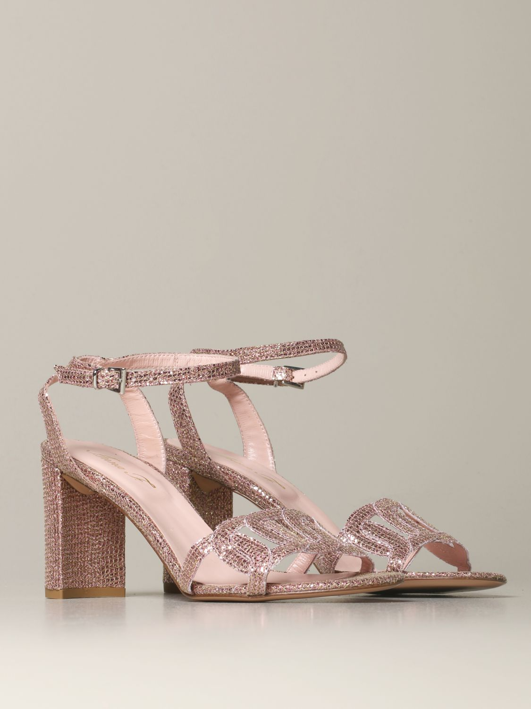 Heeled sandals Anna F.: Shoes women Anna F. blush pink 2