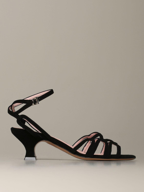 Heeled sandals Anna F.: Shoes women Anna F. black 1 1