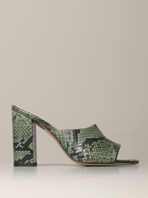 Heeled sandals Anna F.: Shoes women Anna F. military 1