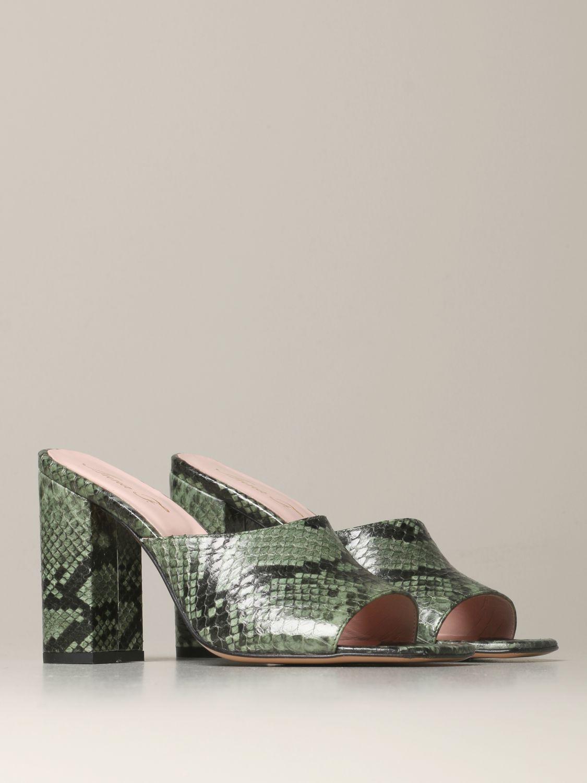 Heeled sandals Anna F.: Shoes women Anna F. military 2