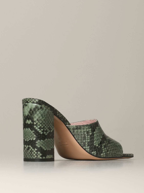 Heeled sandals Anna F.: Shoes women Anna F. military 3