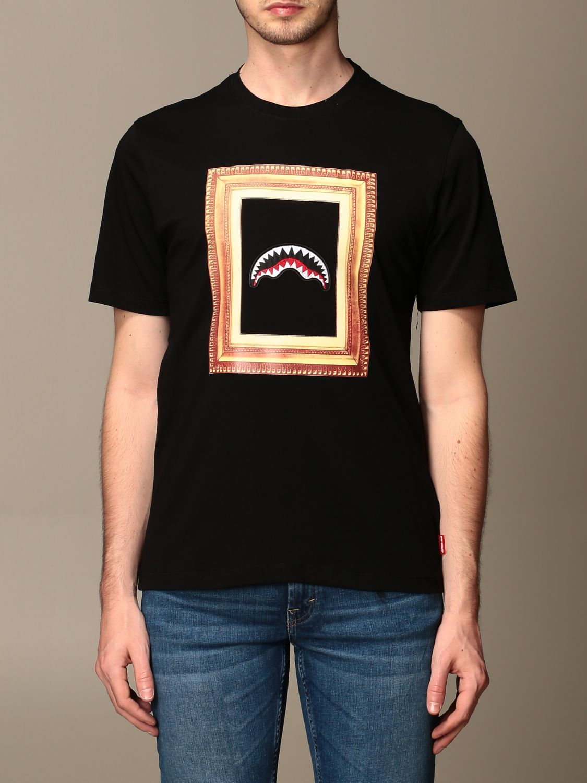 T-shirt Sprayground: T-shirt men Sprayground black 1