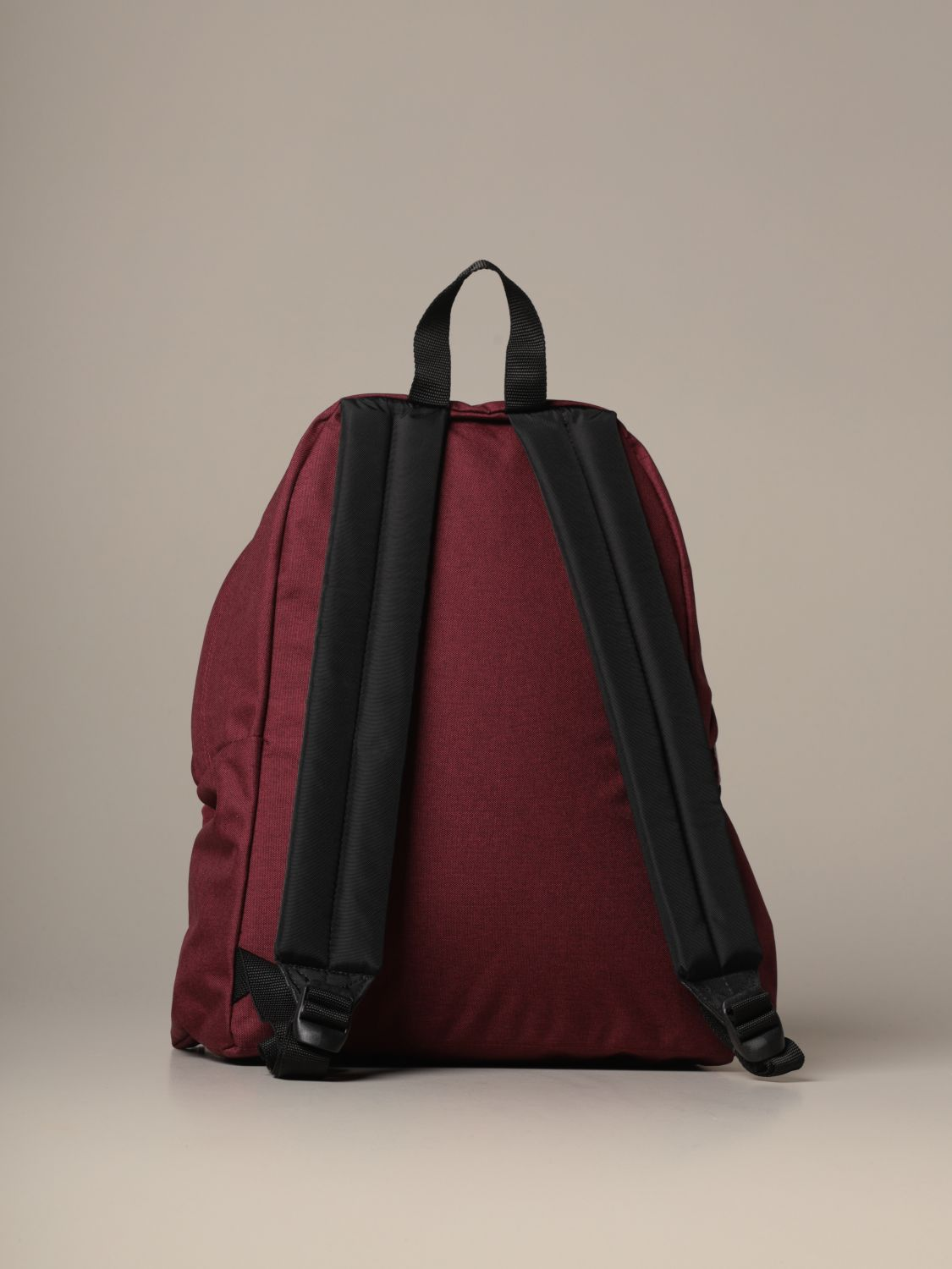 Backpack Eastpak: Padded Zippl'r Eastpak backpack in light canvas with logo burgundy 2