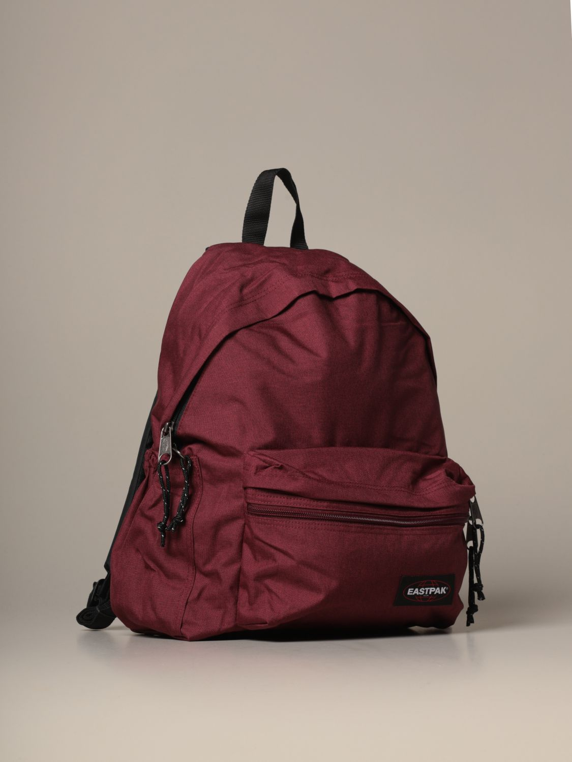 Backpack Eastpak: Padded Zippl'r Eastpak backpack in light canvas with logo burgundy 3