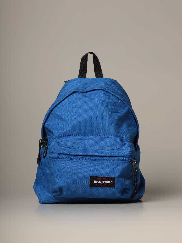 Backpack Eastpak: Padded Zippl'r Eastpak backpack in canvas with logo blue 1