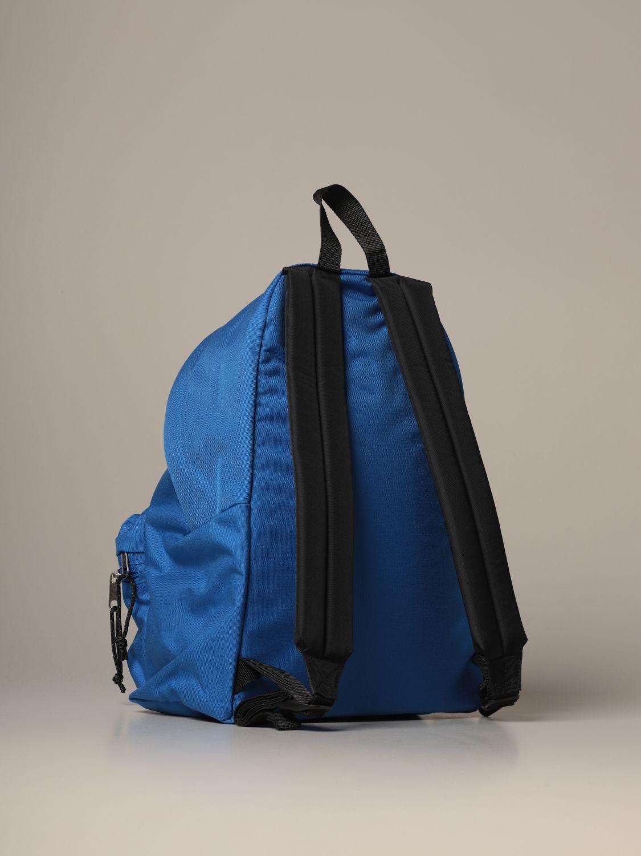 Backpack Eastpak: Padded Zippl'r Eastpak backpack in canvas with logo blue 2