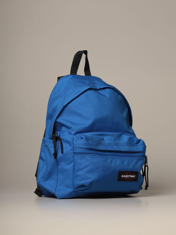 Backpack Eastpak: Padded Zippl'r Eastpak backpack in canvas with logo blue 3