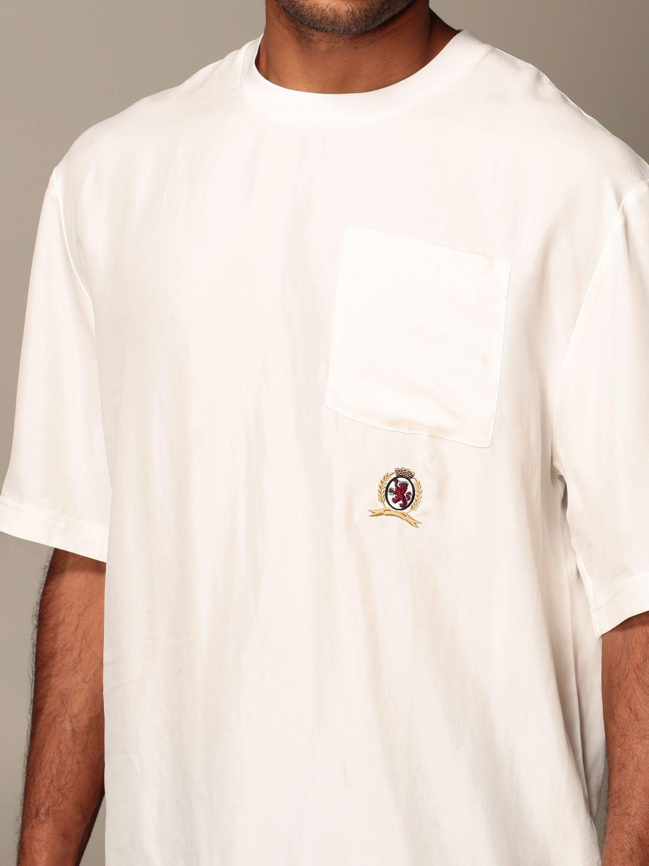 T-Shirt Hilfiger Collection: T-shirt herren Hilfiger Collection weiß 4