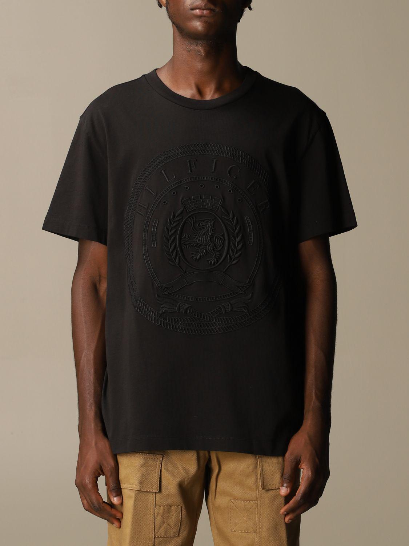 Camiseta Hilfiger Collection: Camiseta hombre Hilfiger Collection negro 1
