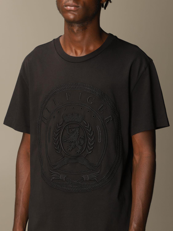 Camiseta Hilfiger Collection: Camiseta hombre Hilfiger Collection negro 3