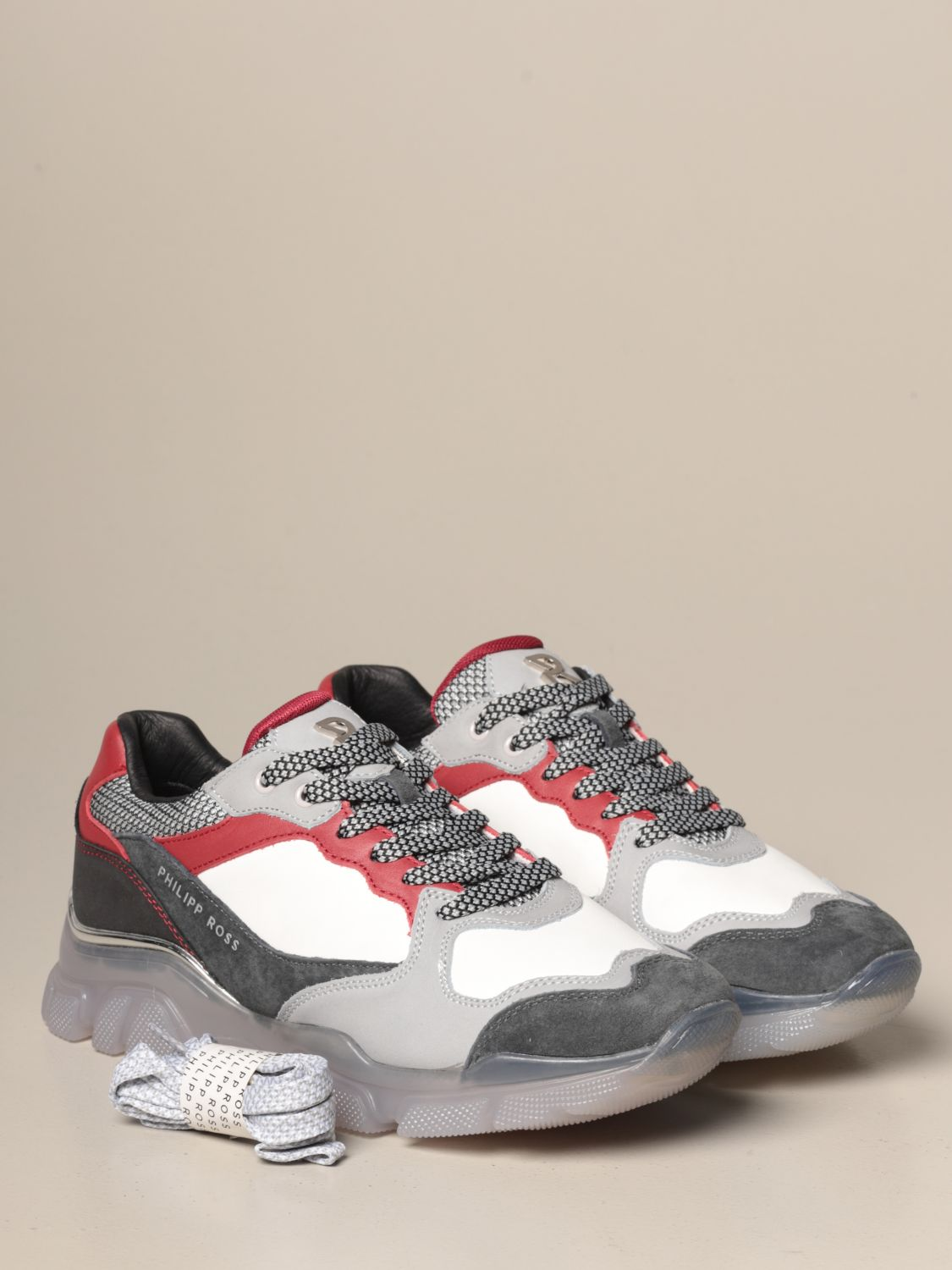 Baskets Philipp Ross: Chaussures homme Philipp Ross multicolore 2