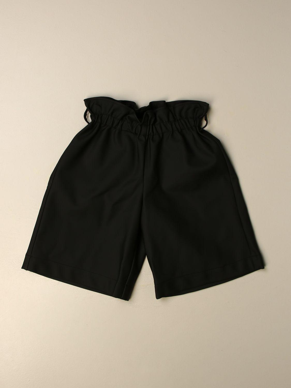 Short Simonetta: Trousers kids Simonetta black 1