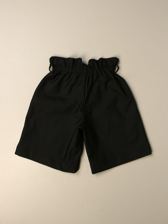 Short Simonetta: Trousers kids Simonetta black 2