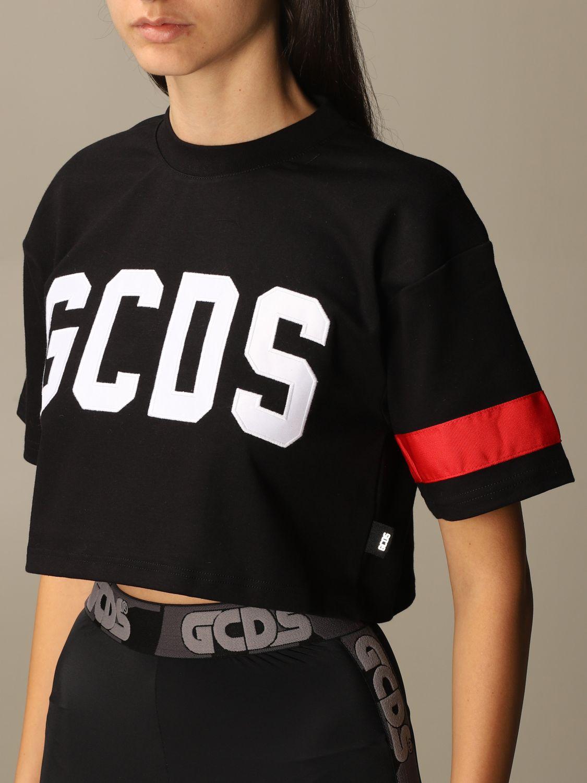 Camiseta Gcds: Camiseta mujer Gcds negro 4