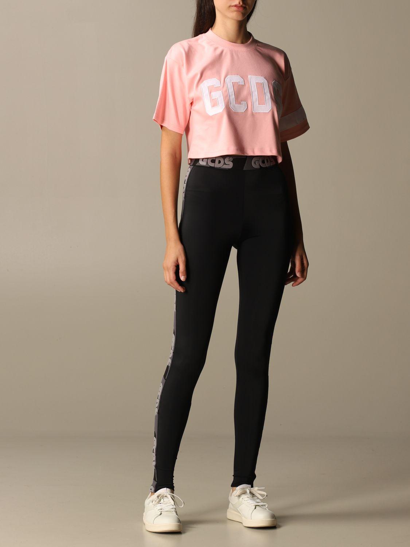 Camiseta Gcds: Camiseta mujer Gcds rosa 2