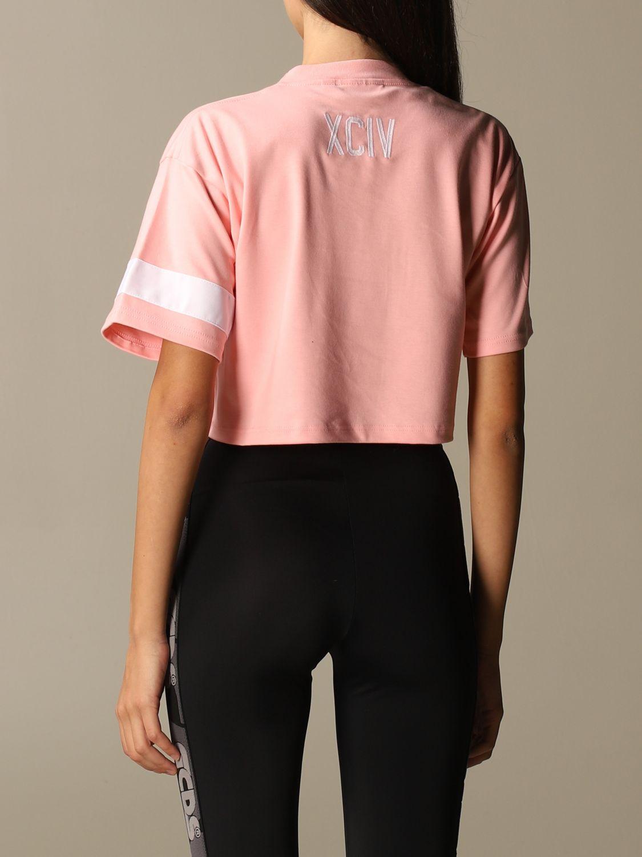 Camiseta Gcds: Camiseta mujer Gcds rosa 3