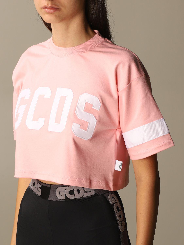 Camiseta Gcds: Camiseta mujer Gcds rosa 4