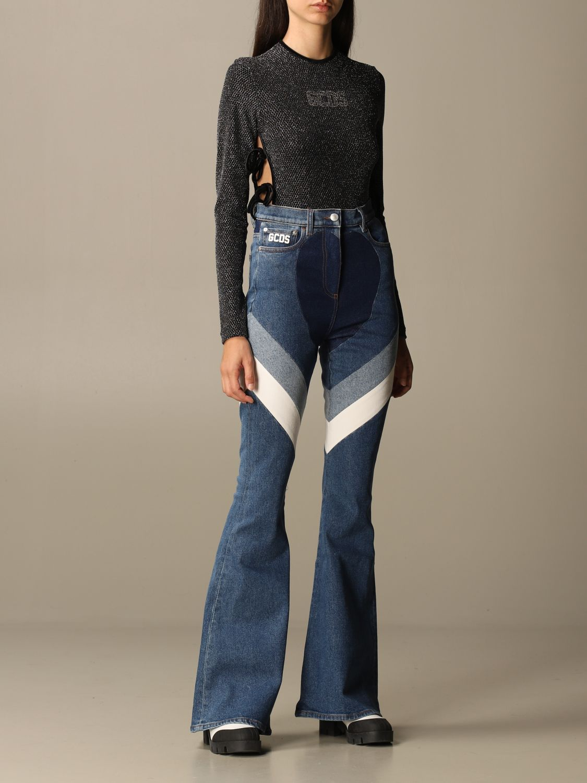 Jeans Gcds: Jeans damen Gcds denim 2