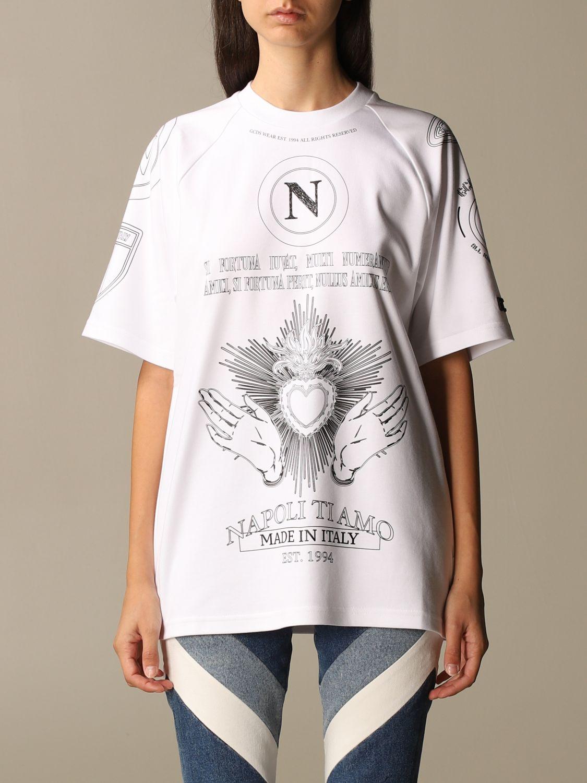 Camiseta Gcds: Camiseta mujer Gcds blanco 1