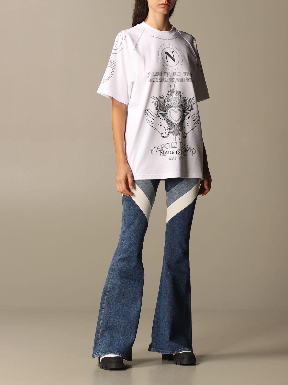T-Shirt Gcds: T-shirt damen Gcds weiß 2