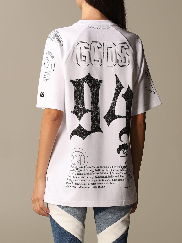 Camiseta Gcds: Camiseta mujer Gcds blanco 3