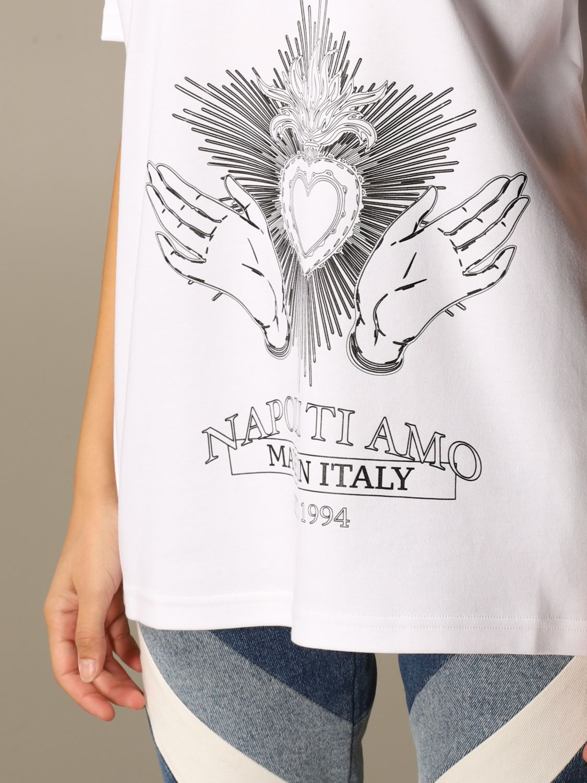 Camiseta Gcds: Camiseta mujer Gcds blanco 4
