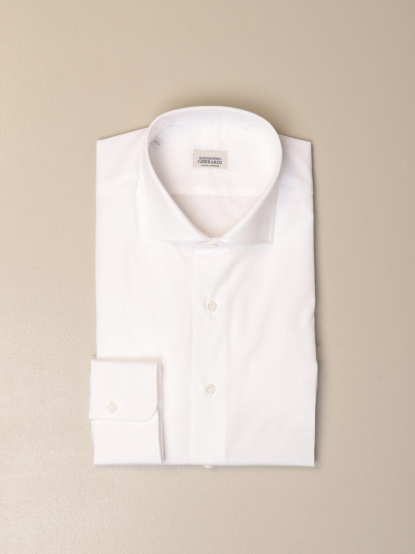 Shirt Alessandro Gherardi: Alessandro Gherardi cotton shirt white 1