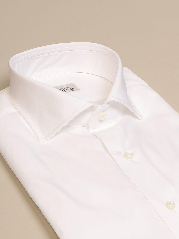 Shirt Alessandro Gherardi: Alessandro Gherardi cotton shirt white 2