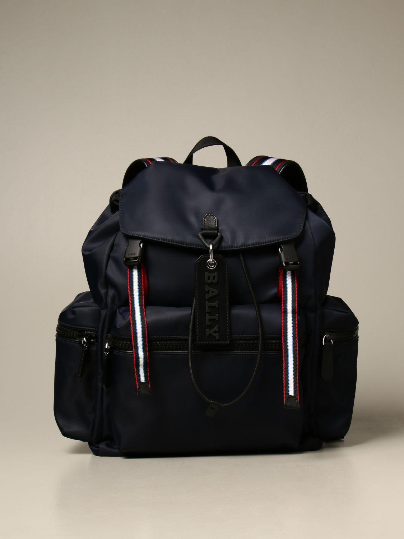 Backpack Bally: Bags men Bally navy 1
