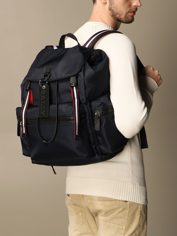 Backpack Bally: Bags men Bally navy 2