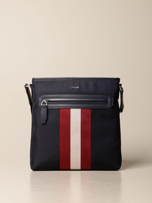 Shoulder bag Bally: Bags men Bally navy 1