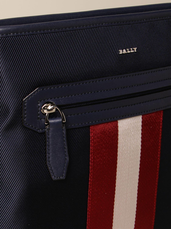 Shoulder bag Bally: Bags men Bally navy 3