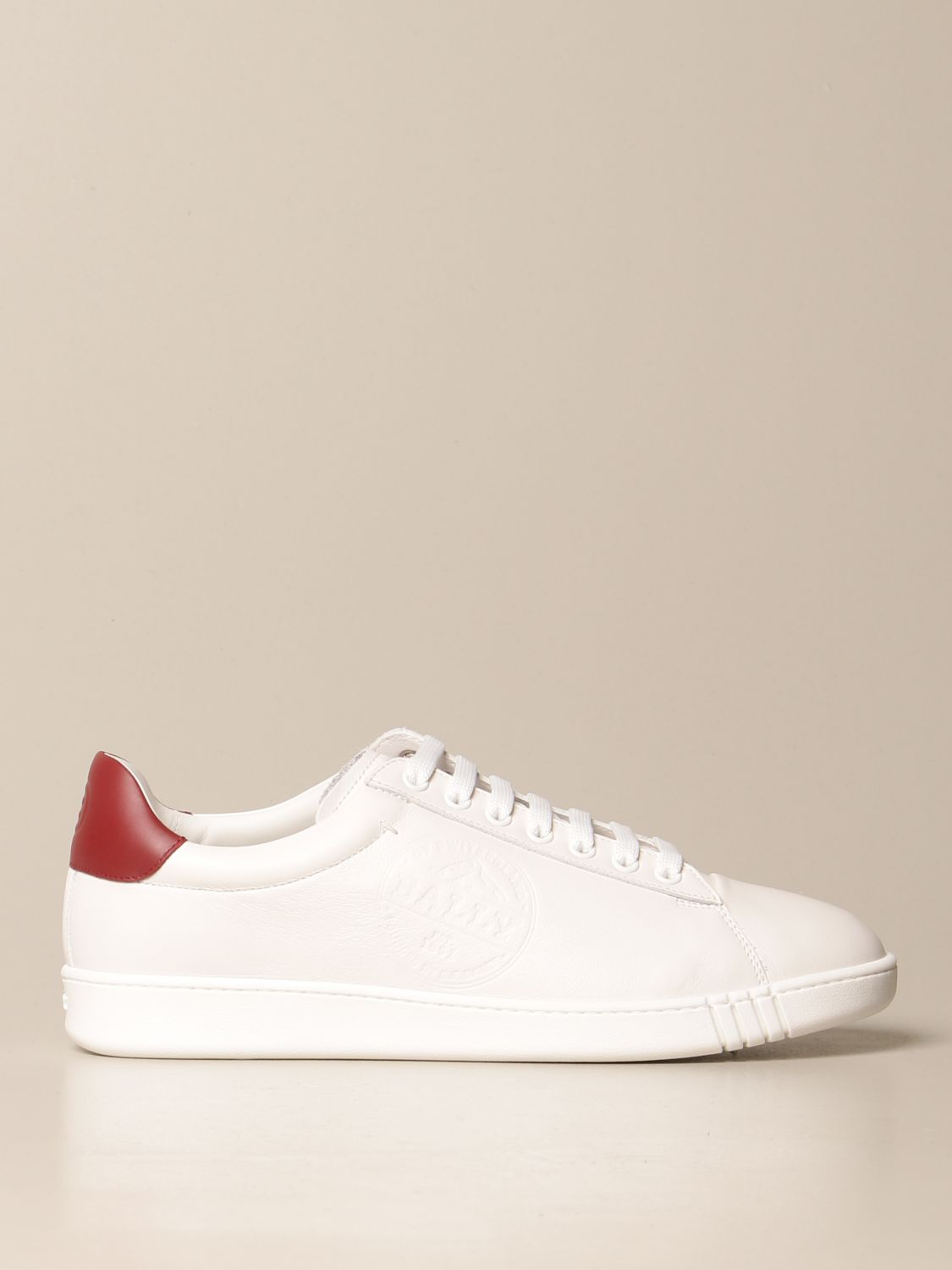 Baskets Bally: Chaussures homme Bally blanc 1