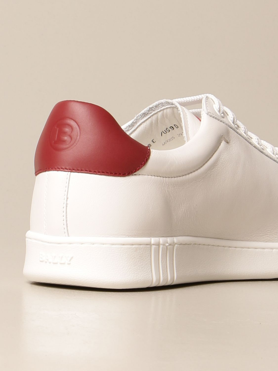 Baskets Bally: Chaussures homme Bally blanc 3