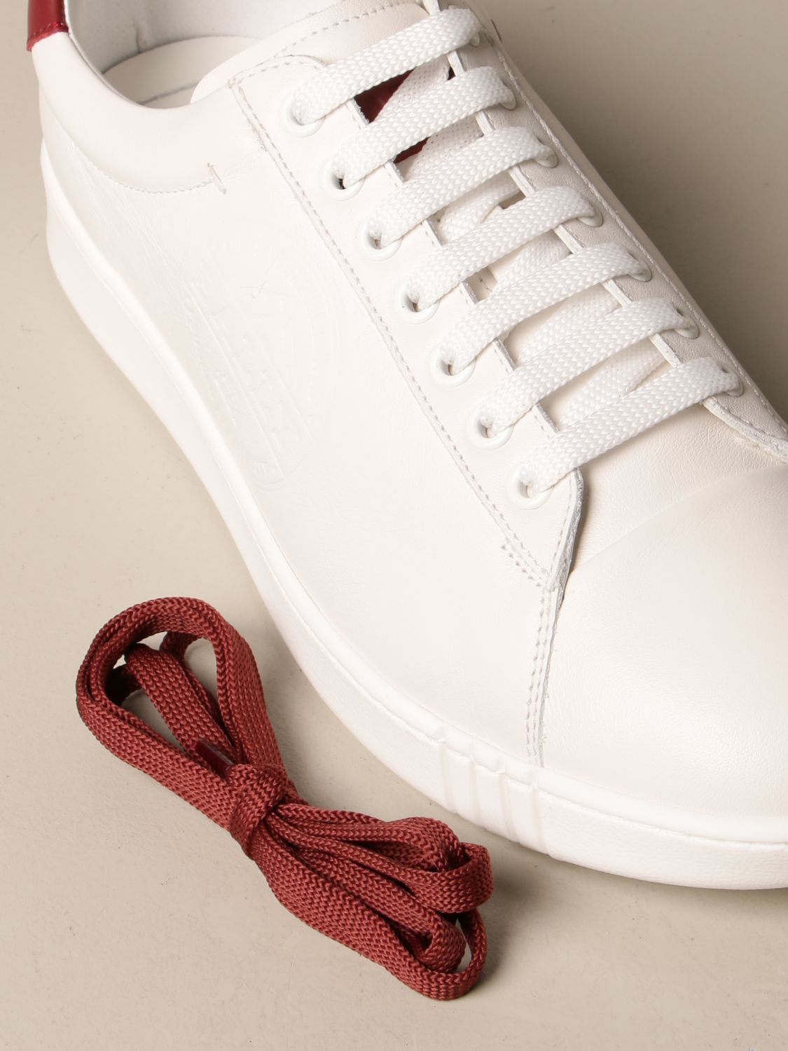 Baskets Bally: Chaussures homme Bally blanc 4