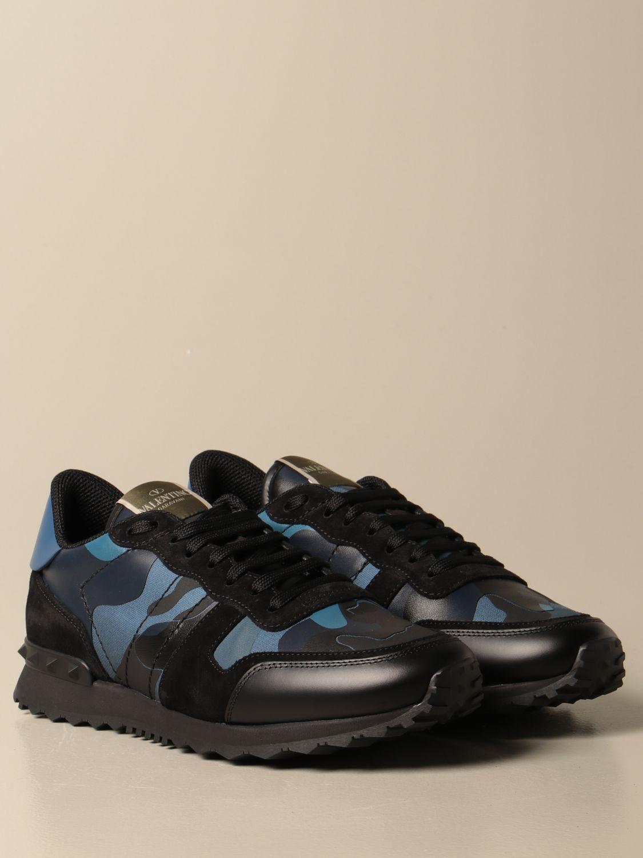 Sneakers Valentino Garavani: Sneakers Rock Runner Valentino Garavani camouflage royal 2